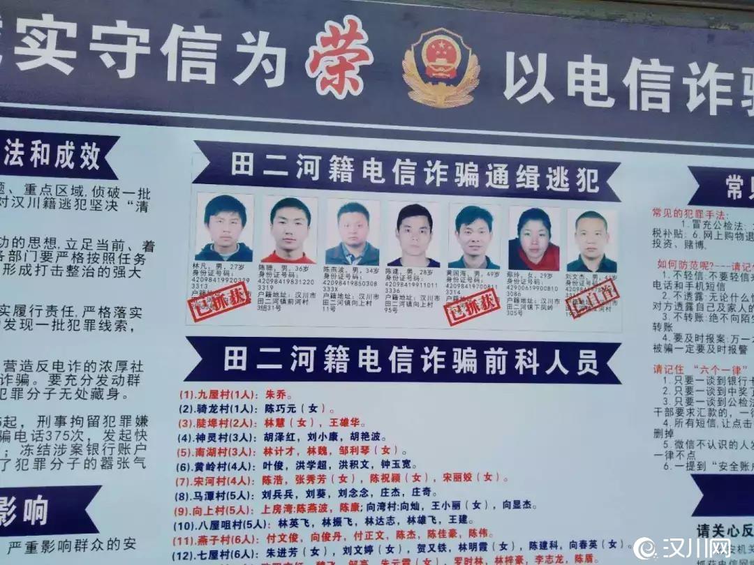 【汉川打电诈】2人被抓,1人投案,春节期间这项行动力度...
